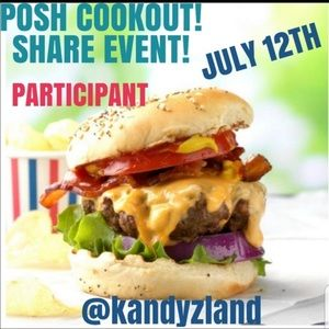 Other - Posh Cookout Share Event